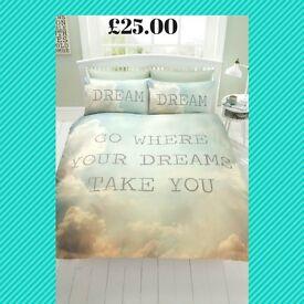 Dreams Duvet Set - Double