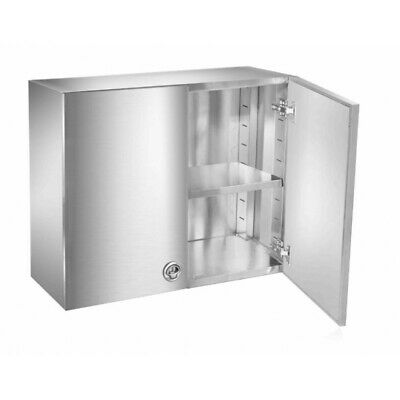 12x30 Stainless Steel Food Truck Wall Cabinet