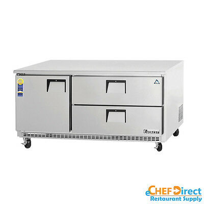 Everest Etbr3-d2 72 Two Drawer Undercounter Refrigerator
