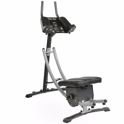 Abs Abdominal Exercise Machine Ab Crunch Coaster Fitness Body Muscle Workout New