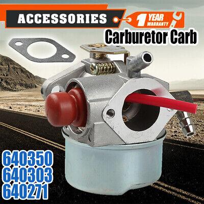 Carburetor for 5hp 5.5Hp 6hp 640350 640303 640271 Tecumseh Engine Cart Lawn Carb ()