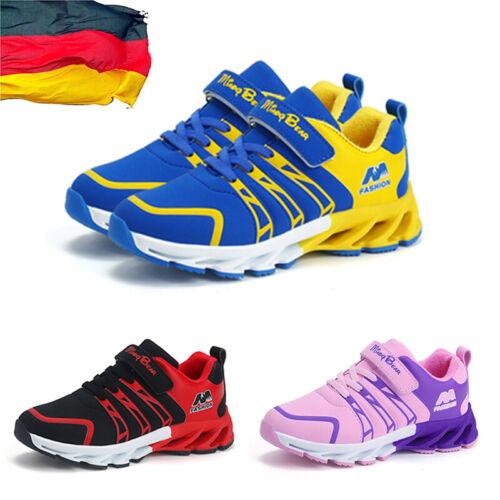 Kinderschuhe Mädchen Jungen Turnschuhe Sportschuhe Sneakers Laufschuhe Gr.27-37