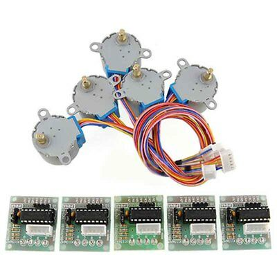 28byj-48 2003 Stepper Motor Driver Module For Arduino 5v Stepper Motor Kit Set