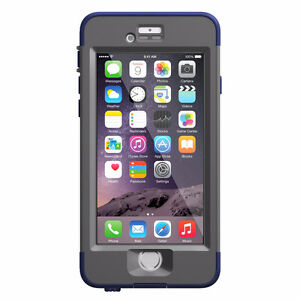 LifeProof NUUD Waterproof Case for iPhone 6, Night Dive Blue