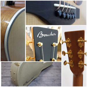 Boucher Guitars- now available at Mingo Music