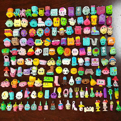 100PCs Random Shopkins of Season 1 2 3 4 5 6 Loose Toys Action Figure Doll