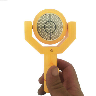 Mini Prism For Topcon South Total Station Wplastic Casing Frame Reflective
