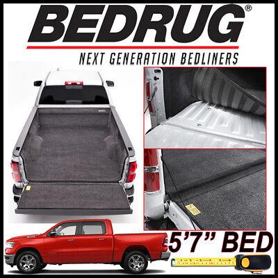 """BEDRUG Custom Fit Bed Liner Mat fits 2019-20 Dodge Ram 1500 NEW BODY w/ 5'7"""" BED"""