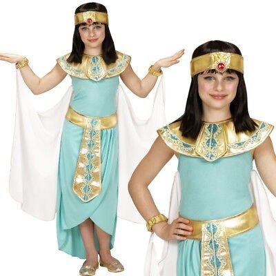 Pharaonin Cleopatra Ägyptische Königin Mädchen Kinder Kostüm NEU - Komplettset