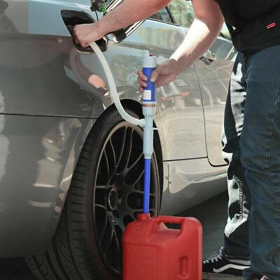 Manual Hand Gasoline Transfer Pump Use Siphon Kit Oil Fuel Diesel Kerosene Water