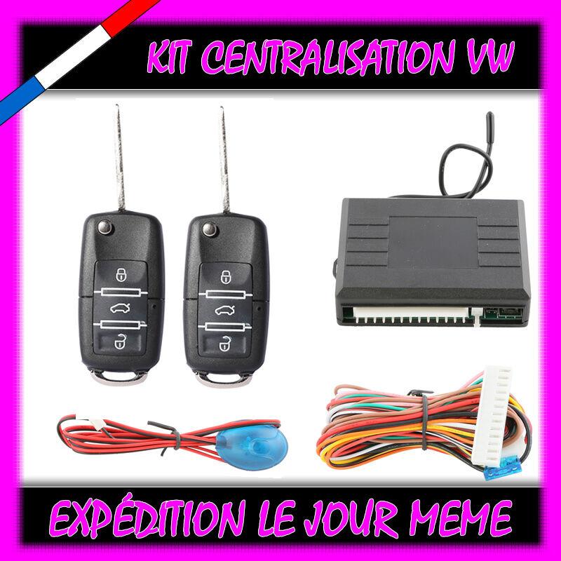 kit telecommande centralisation cle type vw volkswagen vw golf 4 tdi 110 130 ebay. Black Bedroom Furniture Sets. Home Design Ideas