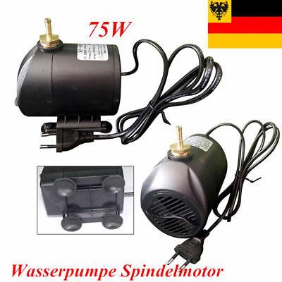 Wasserpumpe Spindelmotor wassergekühlung Pumpe 75W für CNC Graviermaschine DE