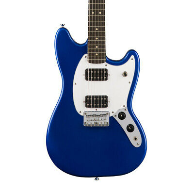 Fender Squier Bullet Mustang HH Electric Guitar, Imperial Blue (NEW)