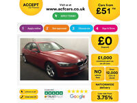 Melbourne Red BMW 316 1.6 Petrol 2014 i SE FROM £51 PER WEEK!