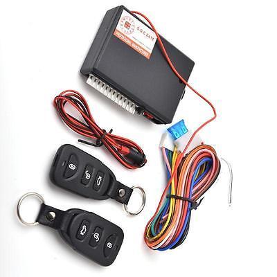 Universal Car Kit Remote Central Door Lock Locking Vehicle Keyless Entry System