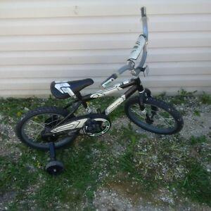 """Unisex 12"""" bike with training wheels"""