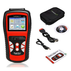 OBD II Scan Tool,Color Screen Car Vehicle Engine Fault Code Read