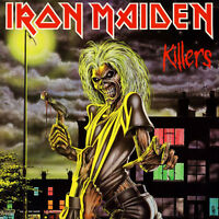 IRON MAIDEN PAIR  OF GOOD REDS... ROUGE TRES BIEN PLACE