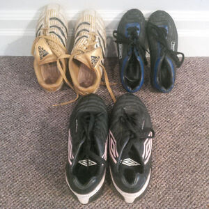 Soccer Shoes / Cleats in Excellent Condition - Great Value!