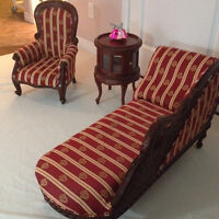 High End. Hand Carved Doll Furniture.