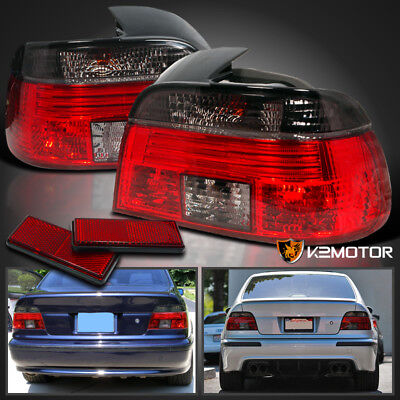 1997-2000 BMW E39 525I 528I 530I 540I 5 Series Smoke Tail Lights Left+Right