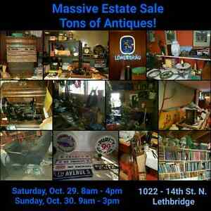 Huge estate sale Lethbridge  Oct 29 30 Regina Regina Area image 1