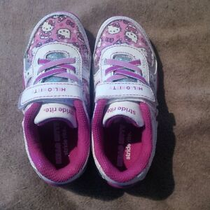 Brand New Stride Rite Hello Kitty kids running shoes, size 9.5