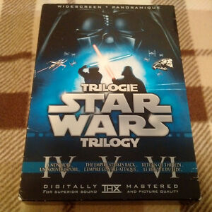Original Star Wars Trilogy includes unaltered versions DVD