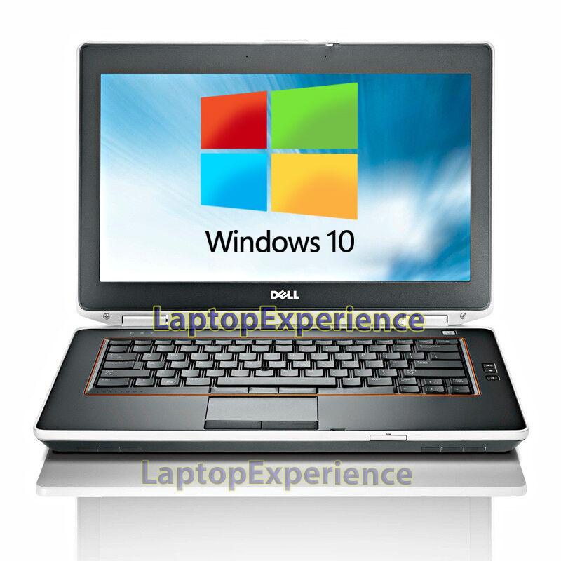 """DELL LAPTOP LATITUDE E6420 2.5ghz 8GB 320GB 14"""" DVD WINDOWS 10 WIN WiFi HDMI PC"""