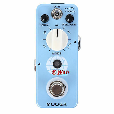 New Mooer @Wah Digital Auto Wah Guitar Effects Pedal!! @ Wah AT WAH
