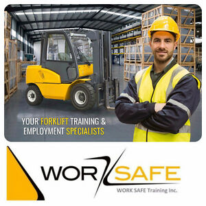 Forklift Training + Certification (Licence) + Jobs from only $75 Peterborough Peterborough Area image 1