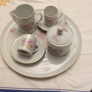 1980s Limoges Espresso Set in great condition