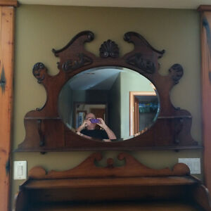 Antique Mirror/ Display