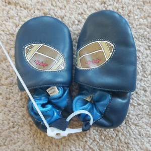 Football Slippers - Size 4