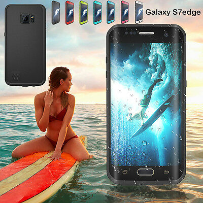 Redpepper Snowproof Waterproof Diving Photograph Case for Samsung Galaxy S7 Edge ()