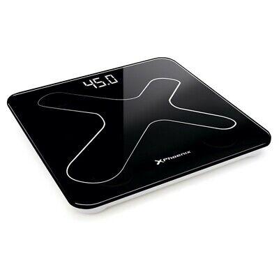 Bascula de baño digital phoenix - pantalla led - peso max 180kg...