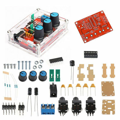 Xr2206 Function Signal Generator Sine Triangle Square Wave 1hz-1mhz Kit Diy