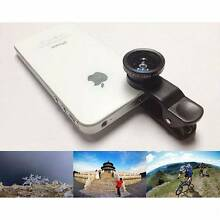 3 in 1 Universal Clip on Lens for Mobile Photo 180° Fisheye Macro Morley Bayswater Area Preview