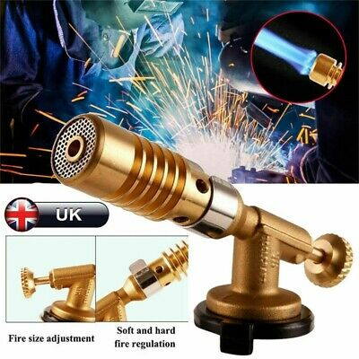 Welding Brazing Torches Nozzle Blow Torch Butane Gas Plumbing Cylinder UK