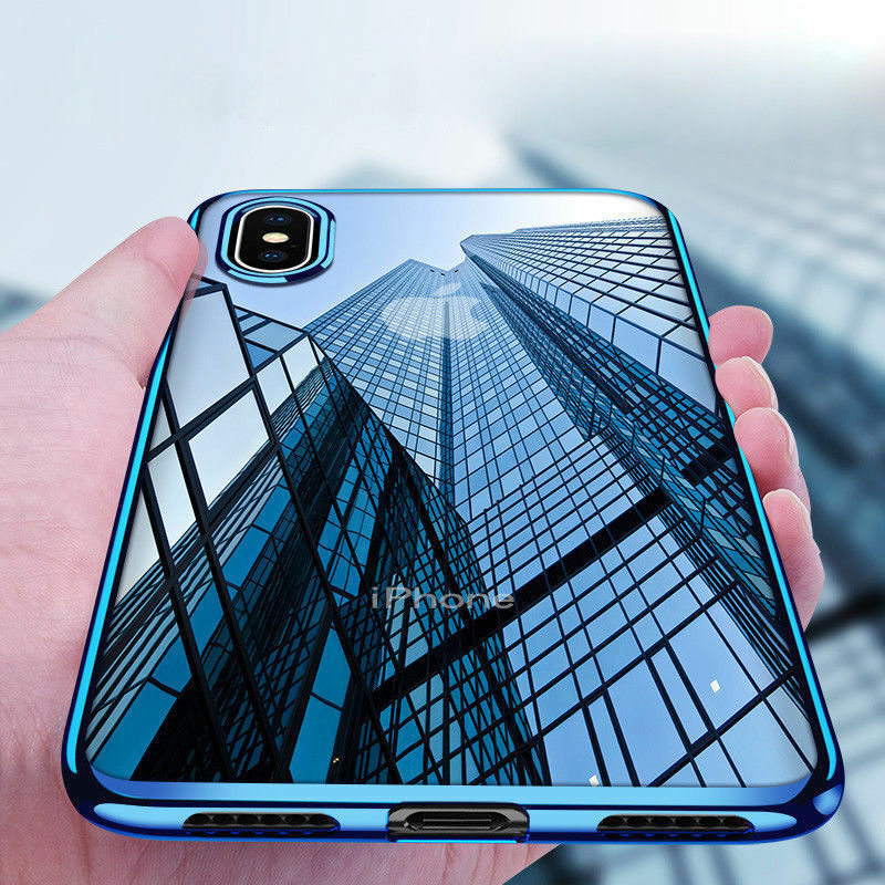 for-iphone-x-8-7-6s-plus-case-electroplate-silicone-ultra-slim-clear-soft-cover