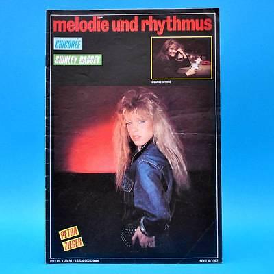 DDR Melodie und Rhythmus 8/1987 Wencke Myhre Whitney Houston Konstantin Wecker B