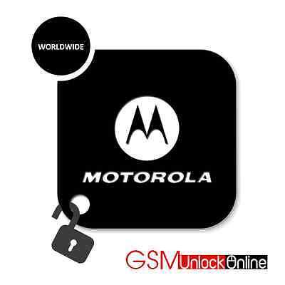 Motorola V3 V3i V3x V3r L6 L7 Gleam V6 Moto G 2Nd 3Rd Gen Network Unlock Code