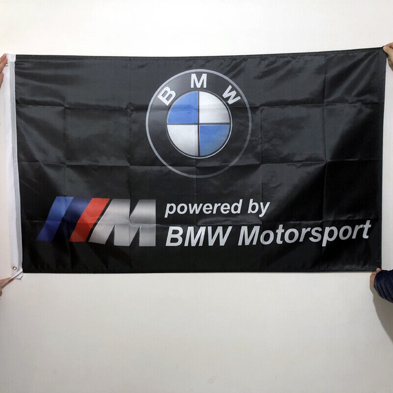 Repro For BMW-M Sign Cars Banner Advertising M Series Custom Shop Flag #143