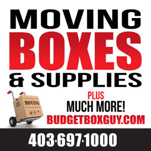 Budget Box Guy - All Your Moving Supplies In One Place!