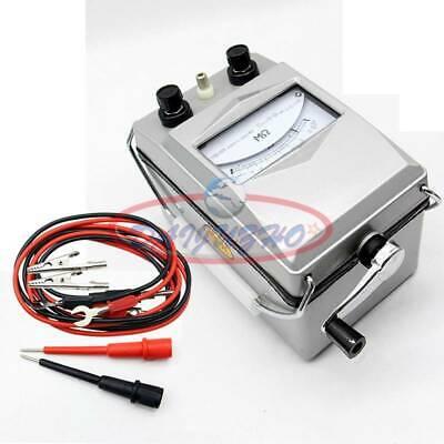 Megger Meter Insulation Tester Resistance Meter 2500m 2500v Zc110d-10