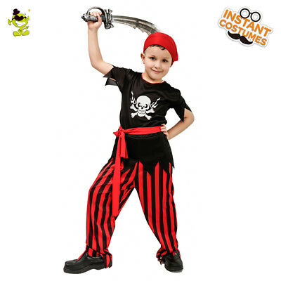 Boy Cool Pirate Costumes for Halloween Party Arrogance Viking Role Play outfits](Pirate Costume For Males)