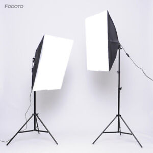 Pro Photography/Video Continuous Softbox Lighting Kit