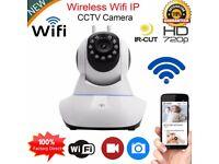 New 720P HD Wireless Wifi IP Camera Webcam Baby/Pet Monitor CAM Pan Tilt UK