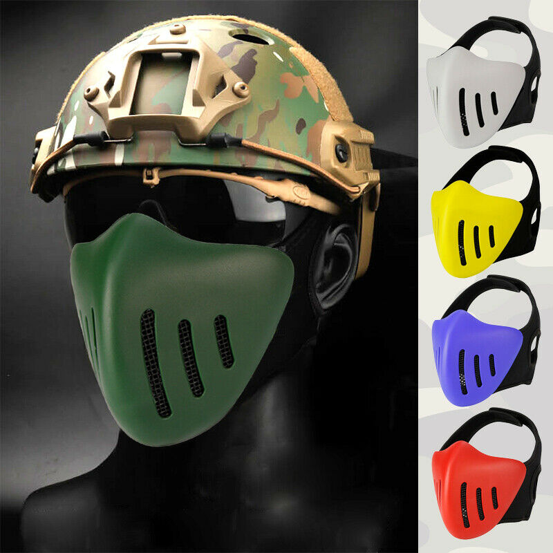 Men Outdoor Sports Breathable Half Face Mask CS FieldProtect