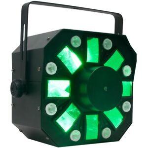 American DJ Stinger 1 3in1 LED Effect Light Disco Club Moonflower Strobe Laser